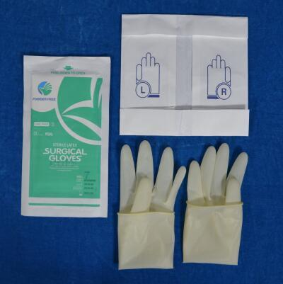 sterile latex gloves